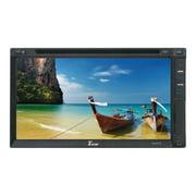 """Tview D695TS 6.95"""" Ddin Touchscreen Receiver Dvd/am/fm"""
