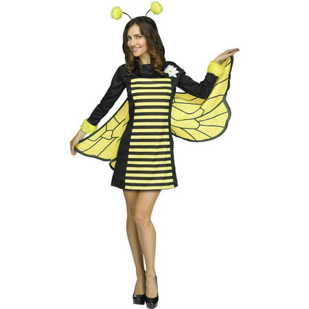 Bee My Honey Women's Adult Halloween Costume (Adult Bee Costume)