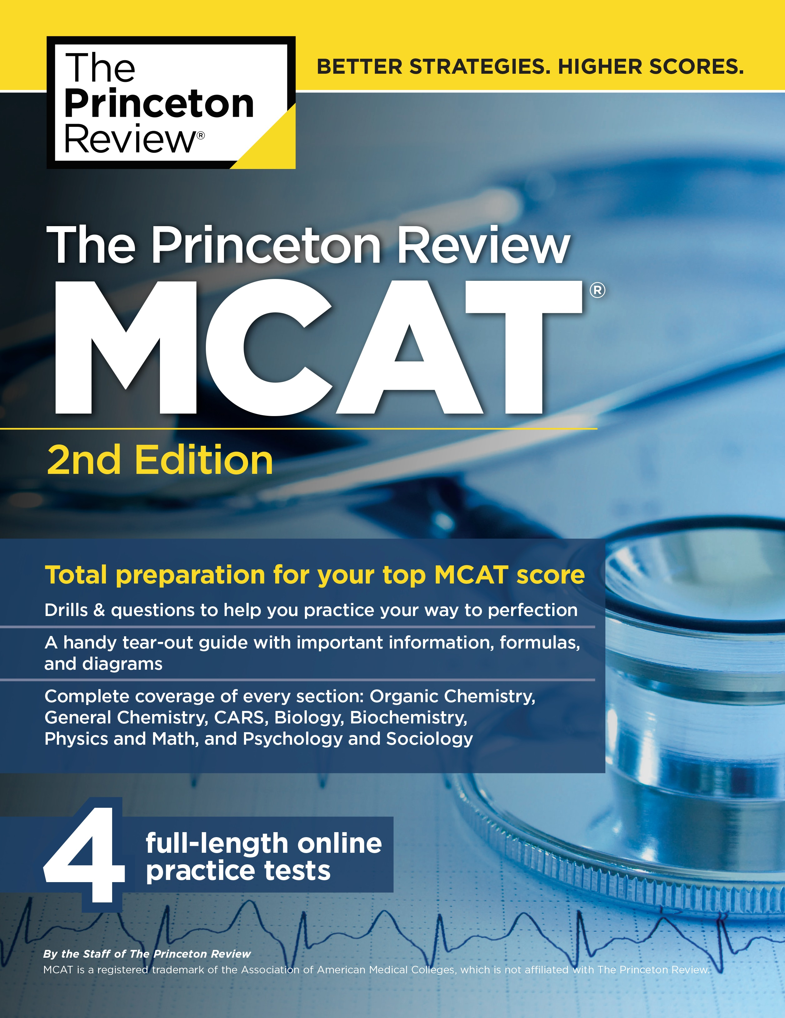 The Princeton Review MCAT, 2nd Edition : Total Preparation for Your ...