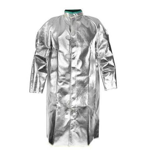 NATIONAL SAFETY APPAREL C88LI2X32 Flame-Resistant Coverall,Khaki,2XL,HRC2