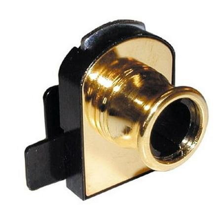 Timberline Locks Tlcb 375 Double Glass Door Lock   Brass