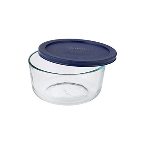 Pyrex 4 Cup Storage Glass Container with Lid