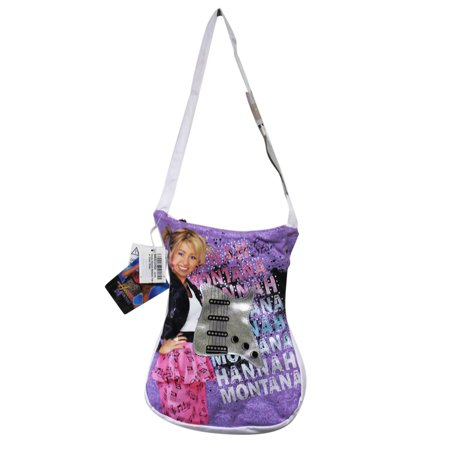 Disney's Hannah Montana Guitar Shaped Girls Shoulder Bag Hannah Montana Purse Handbag