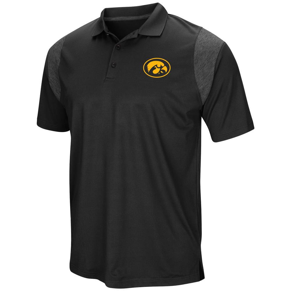 University of Iowa Hawkeyes Men's Polo Short Sleeve Polo Shirt