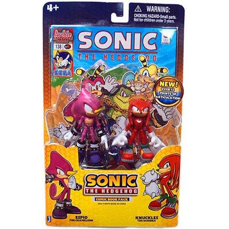 Sonic The Hedgehog Comic Book Pack Espio & Knuckles 3.5