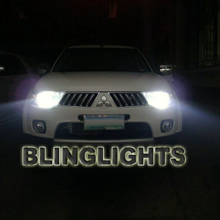 Mitsubishi L200 Triton Bright White Light Bulbs For Halogen Headlamps Headlights Head Lamps Lights
