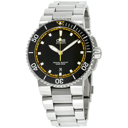 Oris Aquis Date Automatic Black Dial Mens Watch 01 733 7653 4127-07 8 26 01PEB (Watches Automatic For Men)