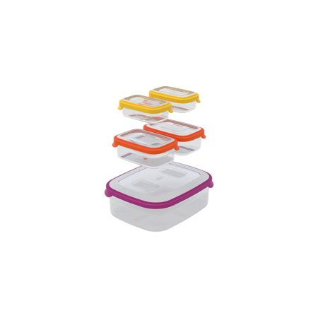 Joseph Joseph Nest Food Storage Container Set with Air Tight Lids (10-Piece)