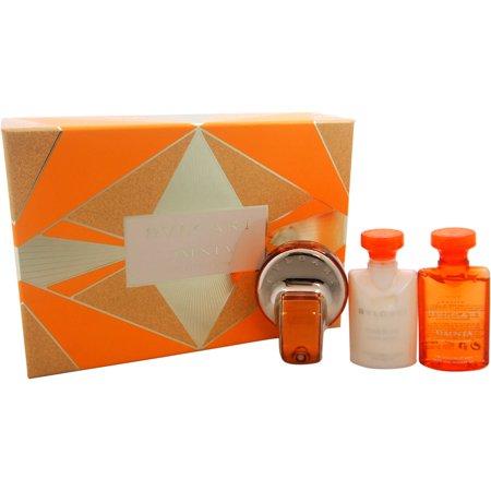Bvlgari Bvlgari Omnia Indian Garnet for Women Gift Set, 4 pc