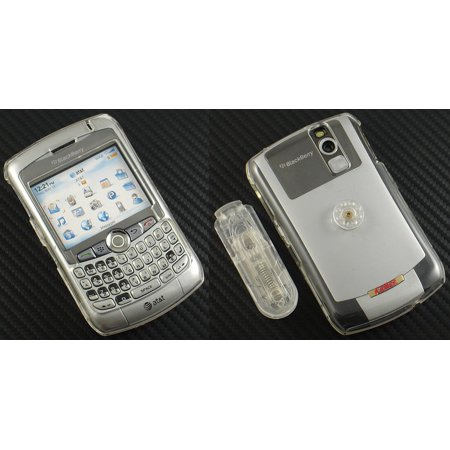Blackberry Curve Belt Clip - NEW CLEAR PROGUARD HARD CASE COVER BELT CLIP FOR BLACKBERRY CURVE 8320 8310 8300