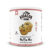 Augason Farms Blueberry Muffin Mix 3 lbs 8 oz No. 10 Can