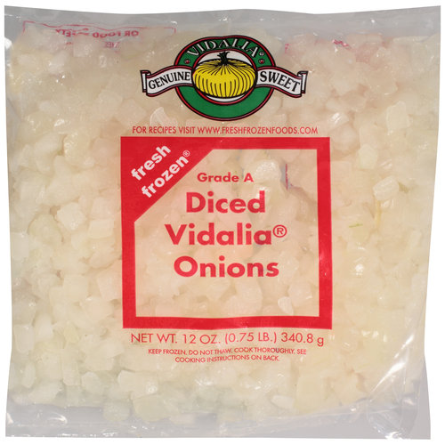 Fresh Frozen Diced Vidalia Onions, 12 oz