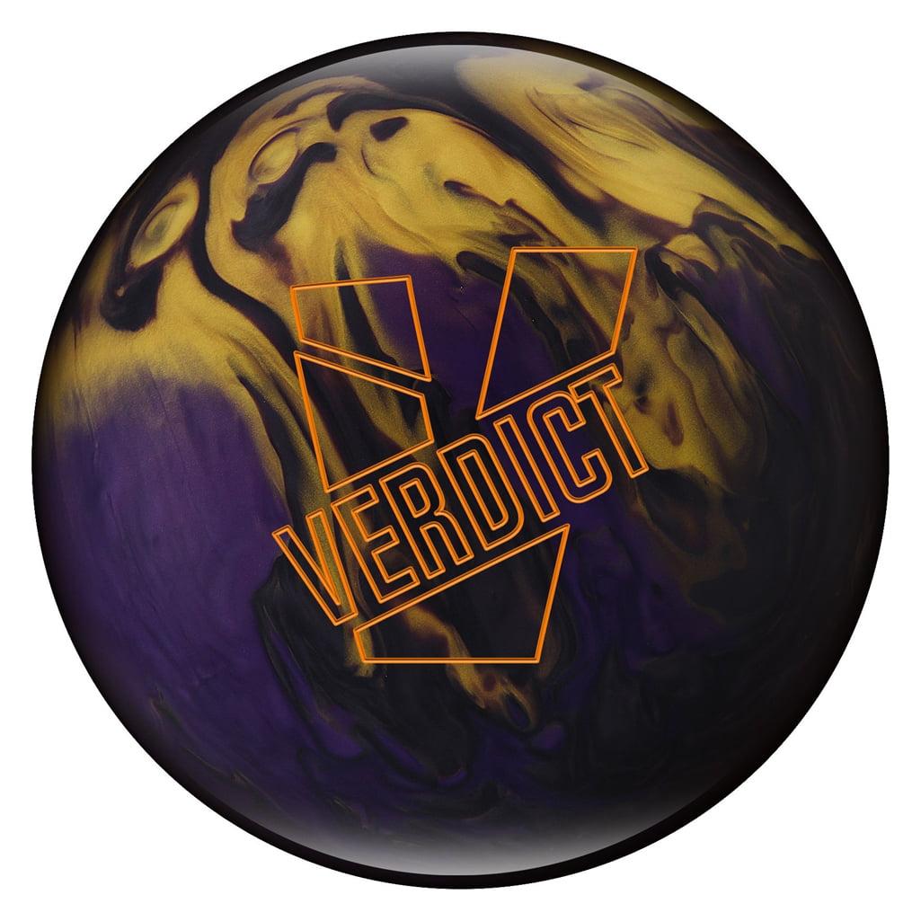 Ebonite Verdict Pearl Bowling Ball- Smoke Violet Gold (13 lbs) by Ebonite Bowling Products