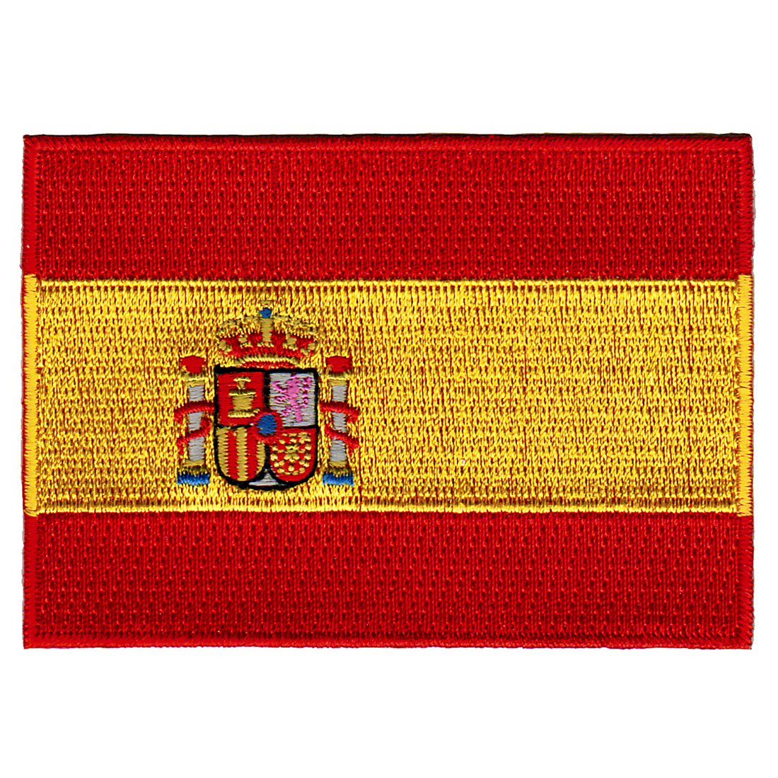 Spain Flag Embroidered Iron-on Patch