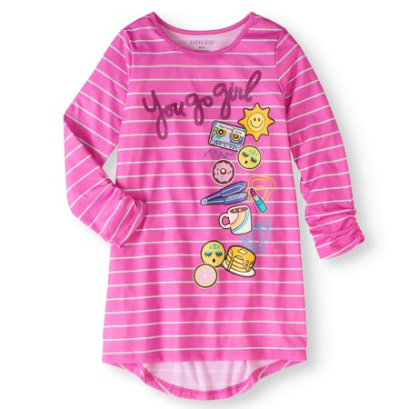 Girls' Komar Kids Emoji Sleep Gown (Girls Sleep Gown)