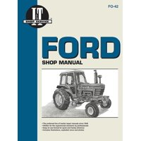 I & T Shop Service: Ford Shop Manual Series 5000, 5600, 5610, 6600, 6610, 6700, 6710, 7000, 7600, 7610, 7700, 7710 (Fo-42) (I & T Shop Service) (Paperback)