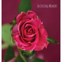 In Loving Memory Funeral Guest Book, Celebration of Life, Wake, Loss, Memorial Service, Funeral Home, Church, Condolence Book, Thoughts and in Memory Guest Book (Hardback)