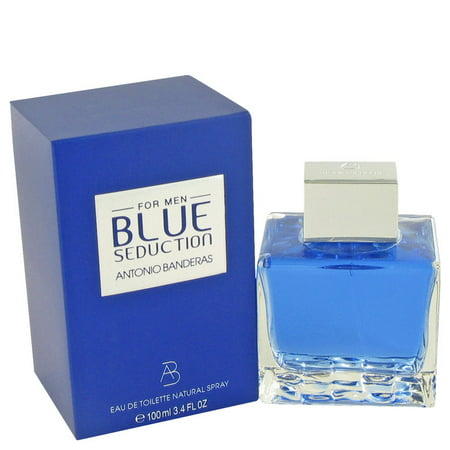 Udv Blue Eau De Toilette - Antonio Banderas Blue Seduction Eau De Toilette Spray for Men 3.4 oz