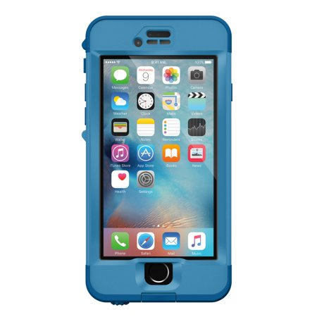 new style 8d72a fb19a LifeProof iPhone 6S Plus Blue/Blue (Cliff Dive) Nuud case - 77-52576
