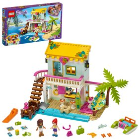 LEGO Friends Toy Beach House 41428 Building Toy comes with Andrea and Mia Mini-Dolls (444 Pieces)