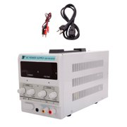 Power Supply 30V 5A DC Power Switching with LED Display Adjustable Digital Bench Power Supply US Plug