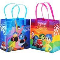 """Disney Inside Out 12 Reusable Party Favors Small Goodie Gift Bags 6"""""""