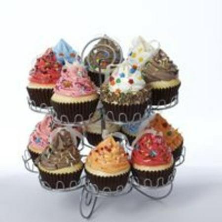 Gun Metal Gray Cupcake Display Rack(Cupcakes Not Included) ()