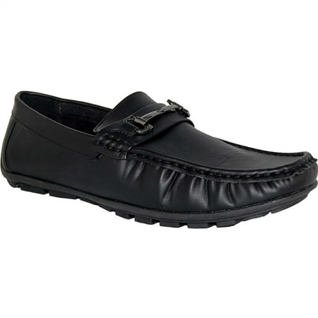 American Shoe Factory Comfort Leather Lined Slip Ons, Men 3' Firepower Slip Ons