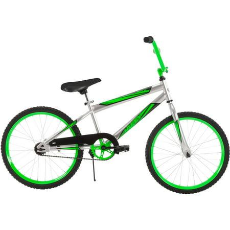 """20"""" Huffy Boys' Rock It Bike, Silver by"""