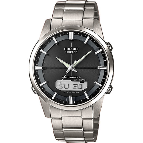 Casio LINEAGE (LCW-M170TD-1A) 6 MULTIBANDS RADIO SOLAR ME...