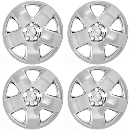CoverTrend (Set of 4) Aftermarket (BOLT ON) HUB CAPS Fits 05-11 DODGE CHARGER MAGNUM 17
