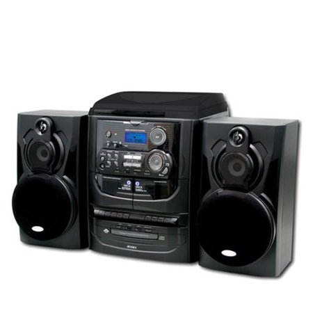 Jensen 3 Speed Stereo Turntable With 3 Cd Changer And Dual