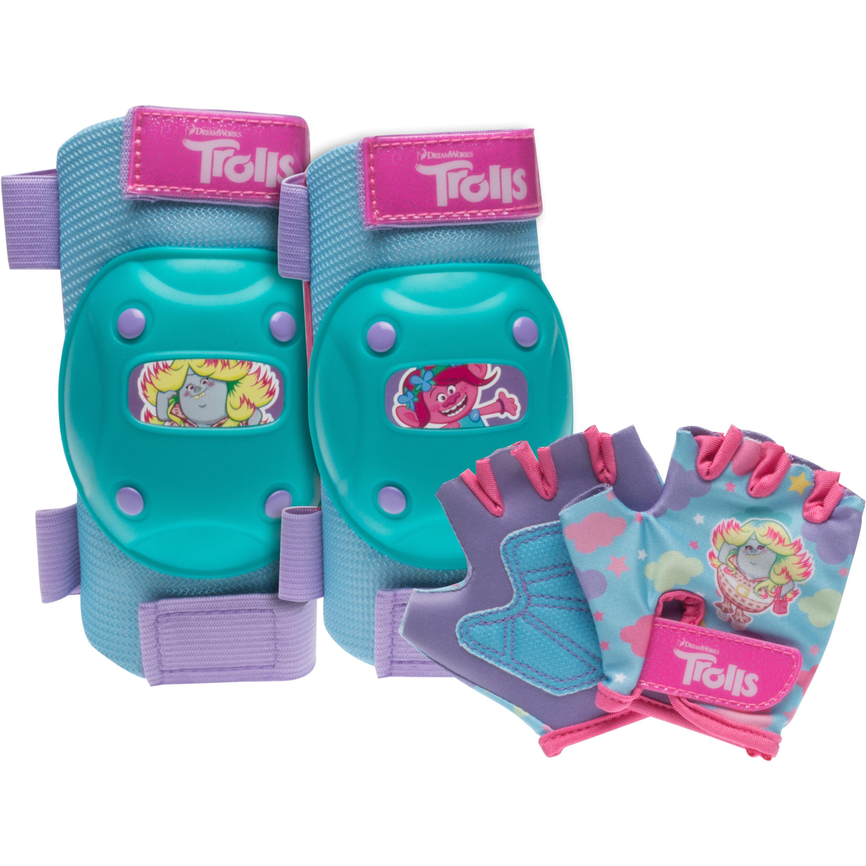 Trolls Poppy Protective Pad Set, Mint/Pink