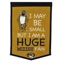 "Missouri Tigers 12"" x 18"" Lil Fan Traditions Banner - No Size"