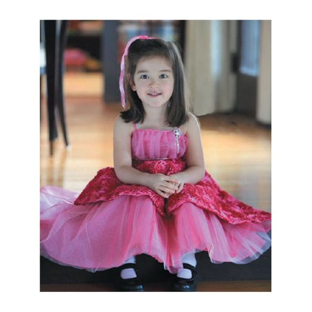 Angels Garment Toddler Girls Fuchsia 4T Ribbon Pageant Dress