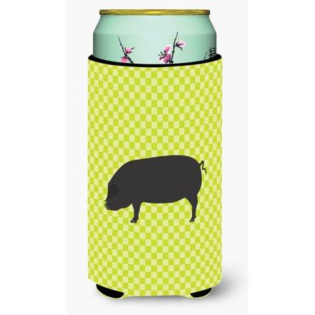Devon Large Black Pig Green Tall Boy Beverage Insulator Hugger Bb7757tbc