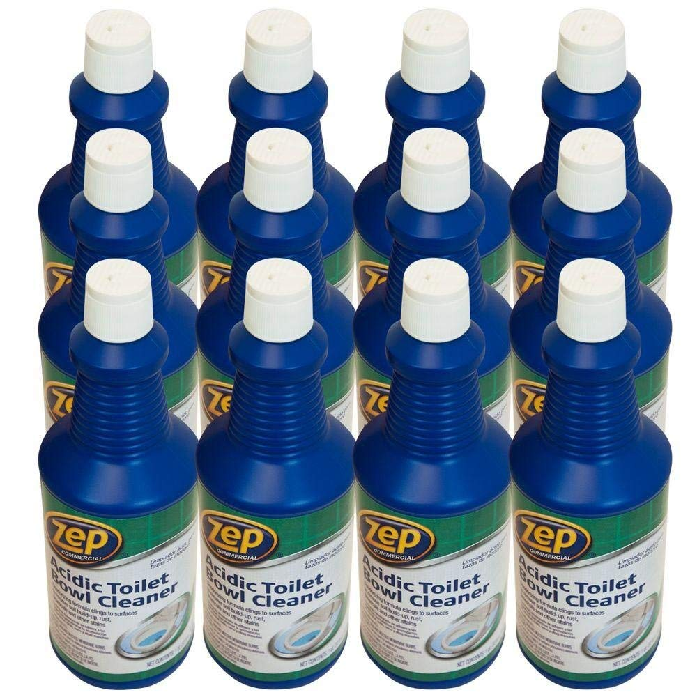 Zep Zuatb32 Commercial Acidic Toilet Bowl Cleaner 32