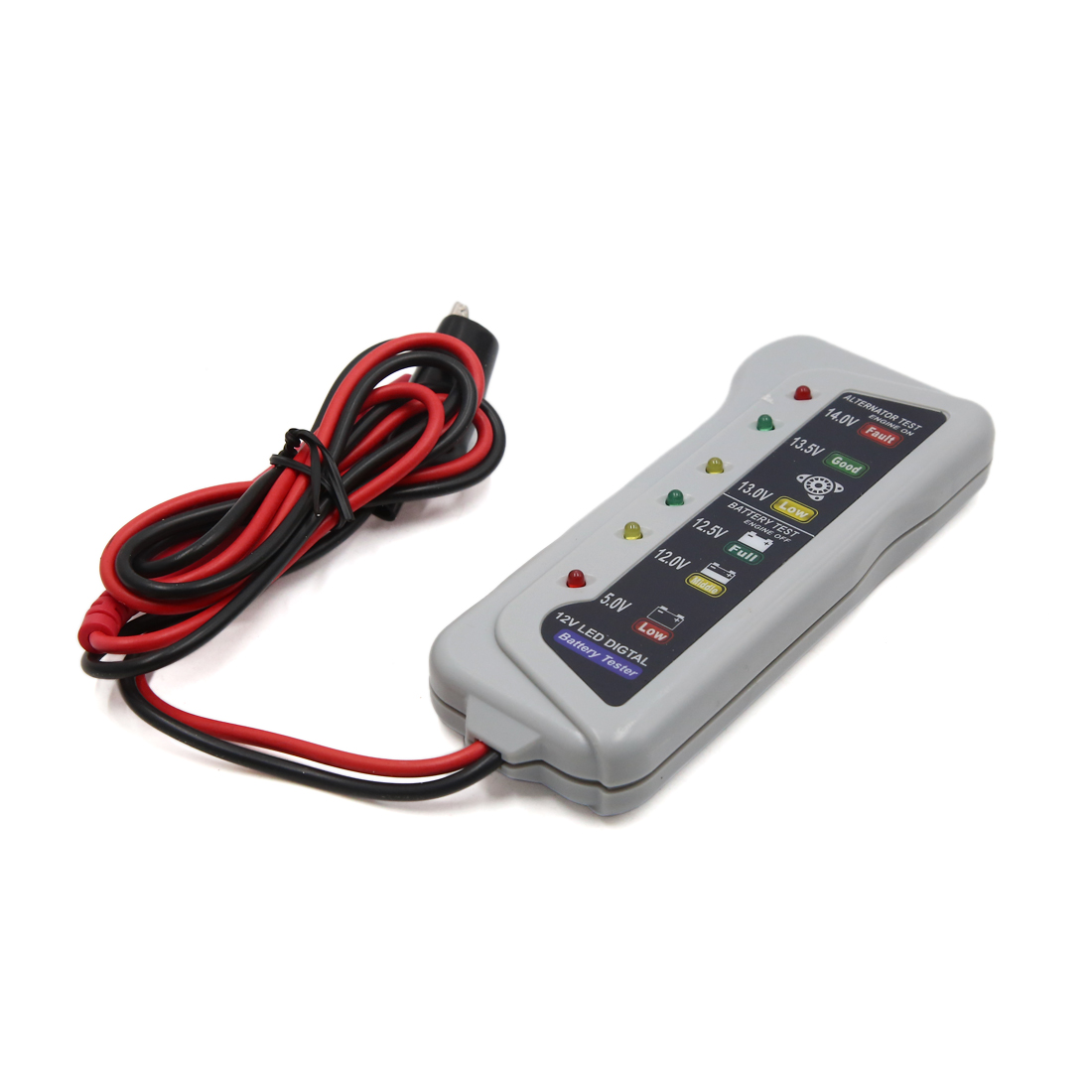 12V 6  Light Display Battery Tester Car Alternator Analyzer Diagnostic Tools