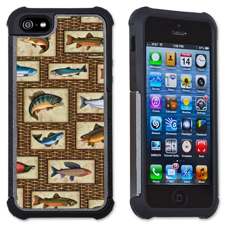 Apple iPhone 6 Plus / iPhone 6S Plus Cell Phone Case / Cover with Cushioned Corners - Trophy Fish (Trophy Phone Case)