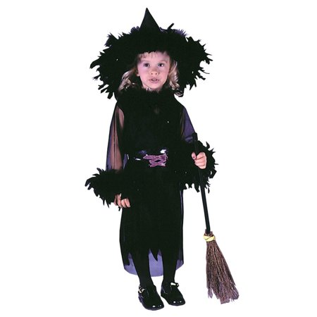 Feathery Witch Toddler Costume](Witch Costume Toddler)