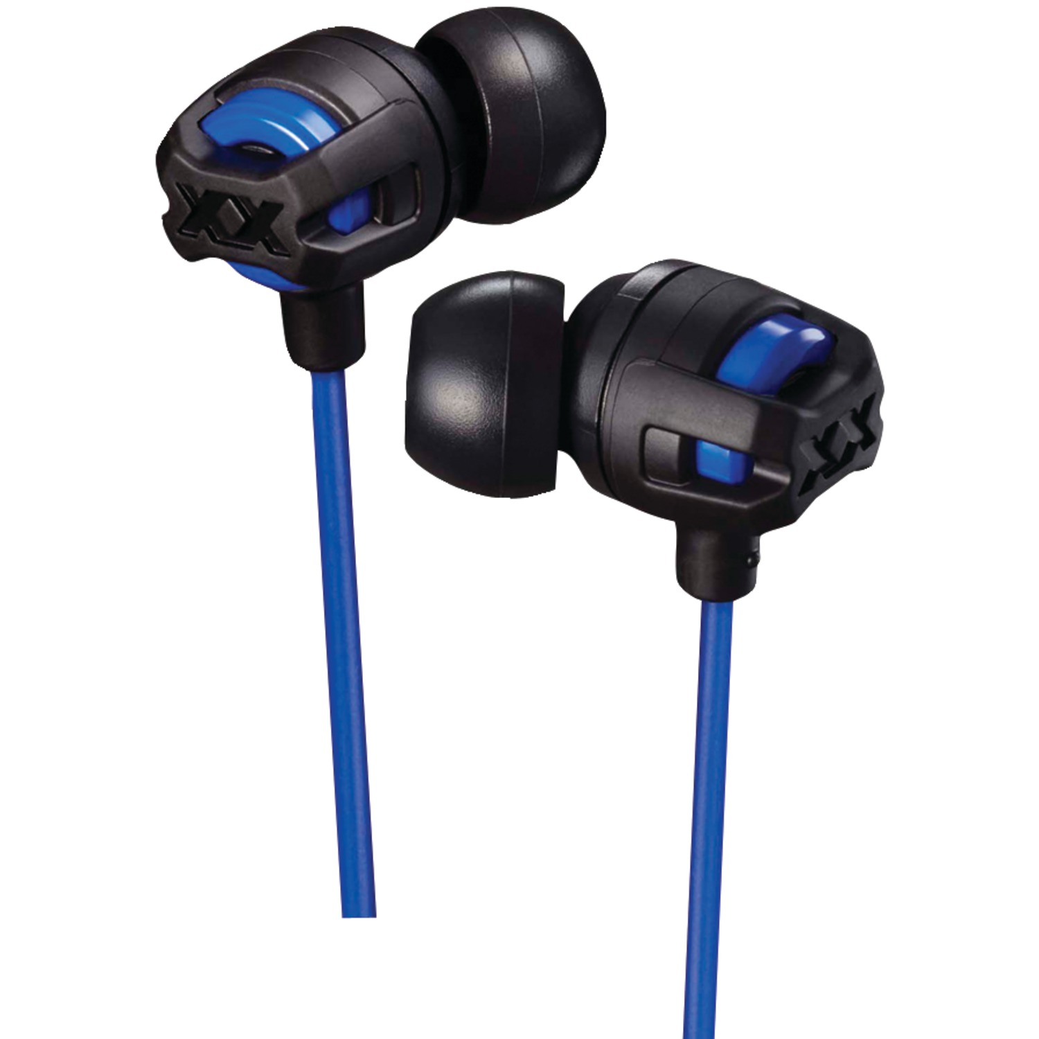 JVC HAFX103MA XX Series Xtreme Xplosives Earbuds with Microphone (Blue)