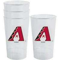 Arizona Diamondbacks 16oz. Acrylic Tumblers 4-Pack Set
