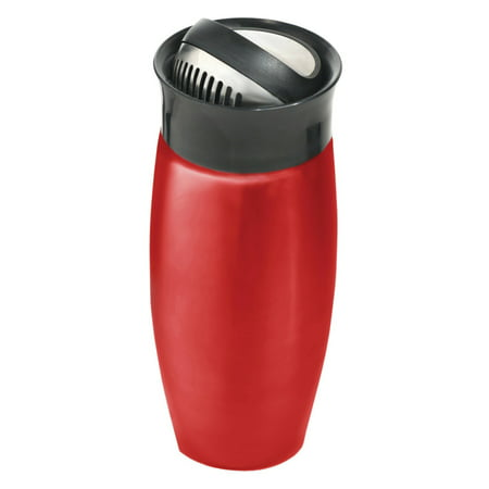 Houdini W2715 24-Ounce Flip-top Cocktail Shaker, Metallic Red