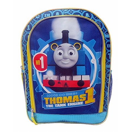 Thomas The Tank Engine No 1 16 Inch Backpack - Train School Pack - Thomas The Train Backpack