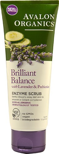 Avalon Organics Exfoliating Enzyme Scrub Lavender Luminosity Natures Inventory Natures Inventory  All Natural Wellness Oil, 2 oz