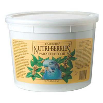 Lafeber Classic Nutri-Berries Parakeet Bird Food, 4 Lb