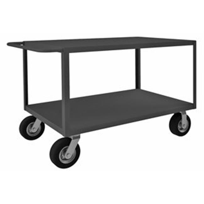 Durham RICNM-2448-2-95 34 in. Rolling Instrument Cart, Gray - 1200 lbs