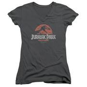 Faded Logo Juniors V-Neck Shirt