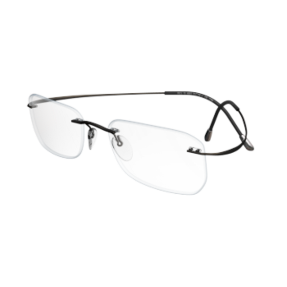 2e7a144496 Silhouette TMA The Must Collection Chassis 5515 6560 Gunmetal Optical Frame  - Walmart.com