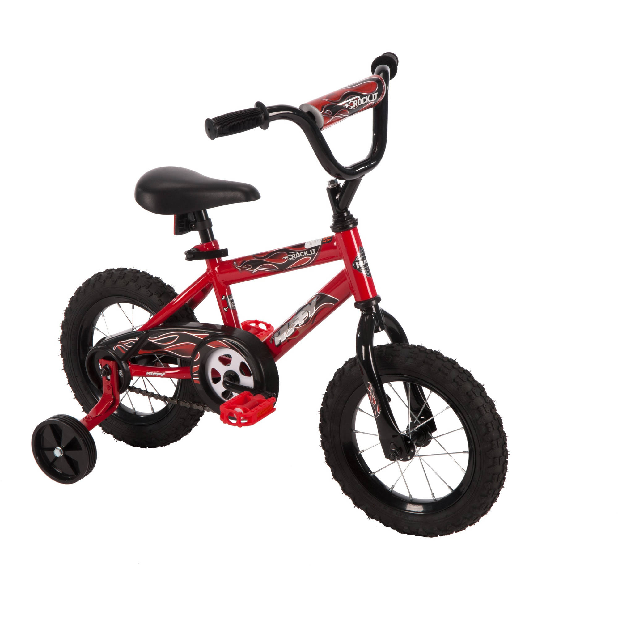 "12"" Huffy Boys' Rock It Bike, Red"